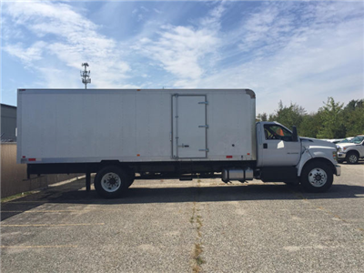 2017 F-650 Regular Cab, Dejana Truck & Utility Equipment DuraBox Cargo Van Box Trucks Dry Freight #179643 - photo 3