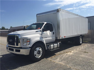 2017 F-650 Regular Cab, Dejana Truck & Utility Equipment DuraBox Cargo Van Box Trucks Dry Freight #179643 - photo 4