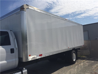 2017 F-650 Regular Cab, Dejana Truck & Utility Equipment DuraBox Cargo Van Box Trucks Dry Freight #179643 - photo 5