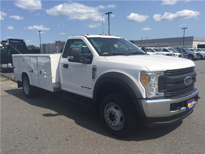 2017 F-550 Regular Cab DRW 4x4, Reading Classic II Aluminum  Service Body #179655 - photo 6