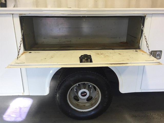 2013 Sierra 3500 Regular Cab 4x4, Service Body #179655A - photo 12