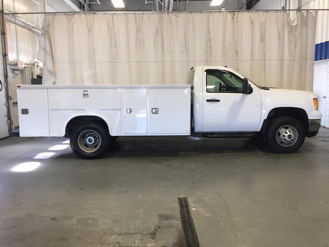 2013 Sierra 3500 Regular Cab 4x4, Service Body #179655A - photo 3
