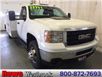 2013 Sierra 3500 Regular Cab 4x4, Service Body #179655A - photo 1