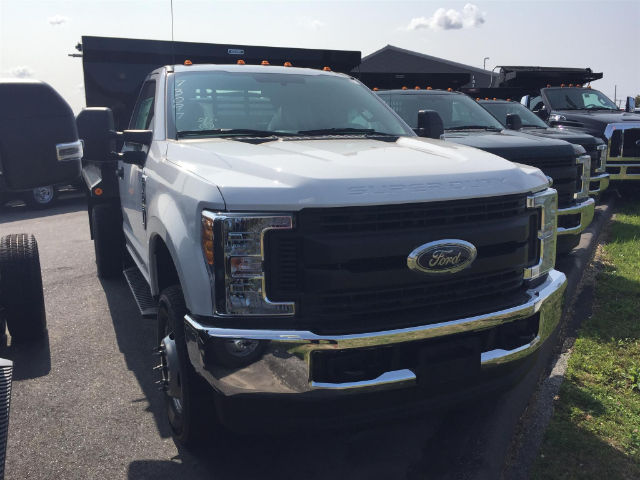 2017 F-350 Regular Cab DRW 4x4, Reading Dump Body #179696 - photo 4