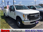 2017 F-350 Super Cab DRW 4x4, Reading Classic II Steel Service Body #179698 - photo 1