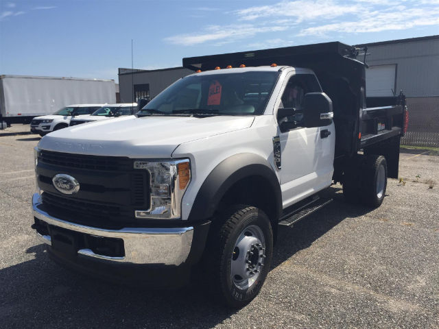 2017 F-550 Regular Cab DRW 4x4, Reading Dump Body #179712 - photo 6