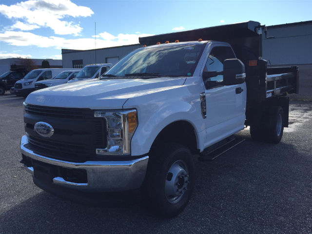 2017 F-350 Regular Cab DRW 4x4,  Rugby Dump Body #179720 - photo 3