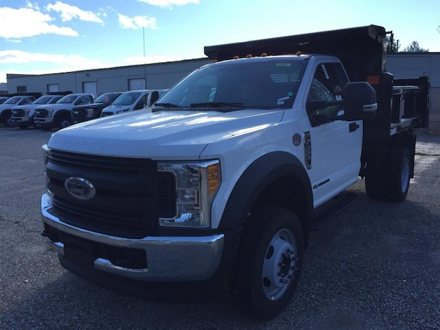 2017 F-550 Regular Cab DRW 4x4, Rugby Dump Body #179722 - photo 3