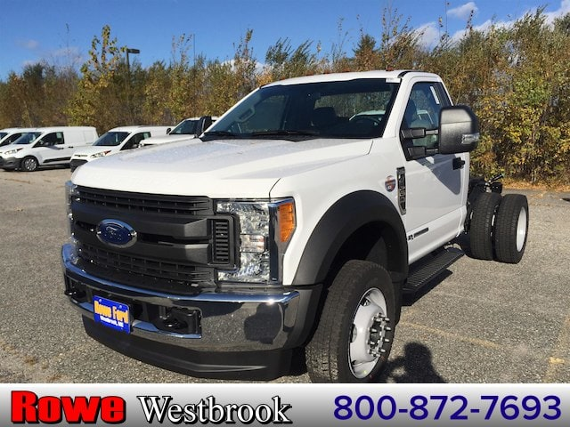 2017 F-550 Regular Cab DRW 4x4 Cab Chassis #179724 - photo 1