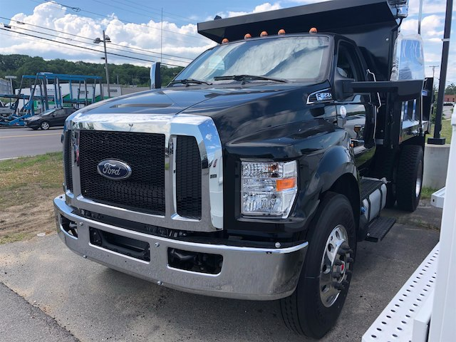 2018 F-650 Regular Cab DRW 4x2,  Crysteel Dump Body #189151 - photo 4