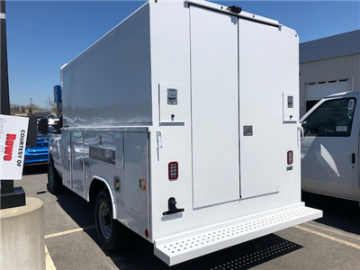 2018 E-350,  Reading Aluminum CSV Service Utility Van #189155 - photo 3