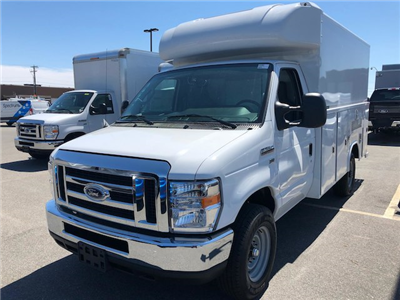 2018 E-350,  Reading Aluminum CSV Service Utility Van #189155 - photo 4
