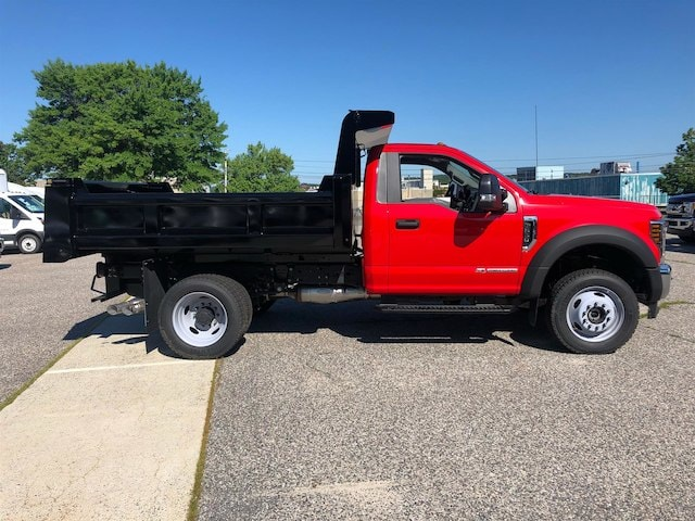 2018 F-550 Regular Cab DRW 4x4,  Rugby Dump Body #189172 - photo 3