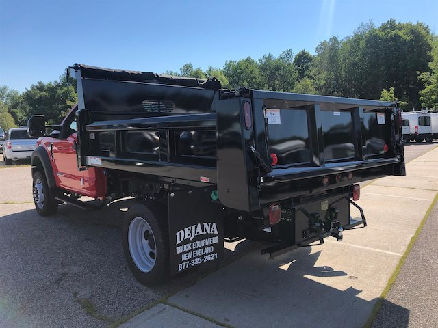 2018 F-550 Regular Cab DRW 4x4,  Rugby Dump Body #189172 - photo 4
