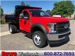 2018 F-550 Regular Cab DRW 4x4,  Rugby Dump Body #189172 - photo 1