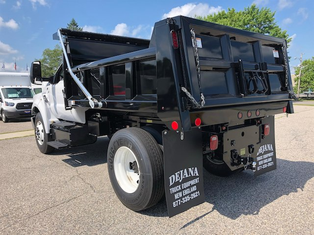 2018 F-650 Regular Cab DRW 4x2,  Rugby Dump Body #189178 - photo 4