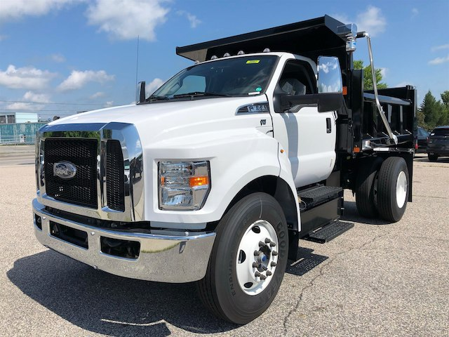 2018 F-650 Regular Cab DRW 4x2,  Rugby Dump Body #189178 - photo 5