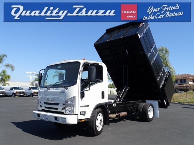 2019 Isuzu NPR-HD Regular Cab 4x2, Harbor Landscape Dump #192032 - photo 1