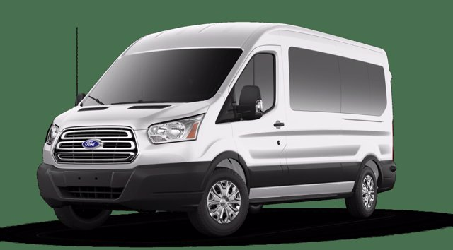 2019 Ford Transit 350 Med Roof 4x2, Passenger Wagon #9550659F - photo 1