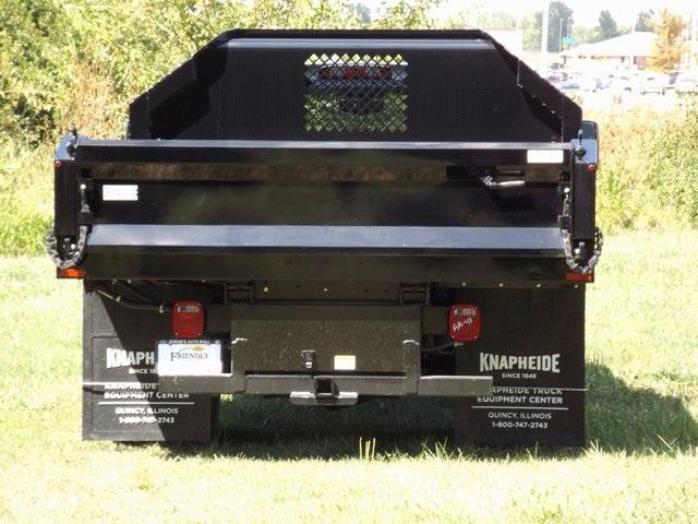 2017 Silverado 3500 Regular Cab DRW 4x4, Knapheide Dump Body #171039 - photo 10
