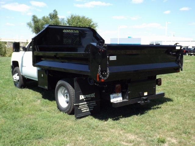 2017 Silverado 3500 Regular Cab DRW 4x4, Knapheide Dump Body #171039 - photo 2