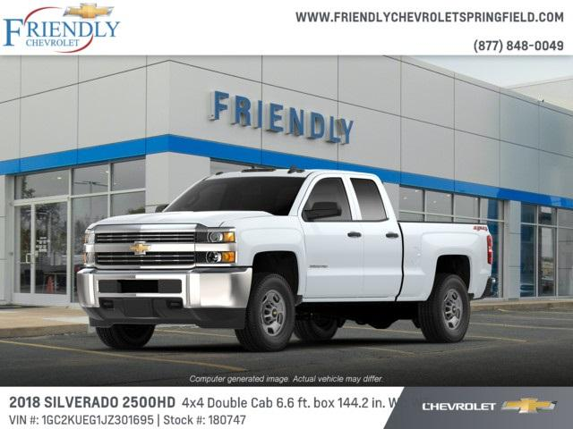 2018 Silverado 2500 Double Cab 4x4,  Pickup #180747 - photo 1