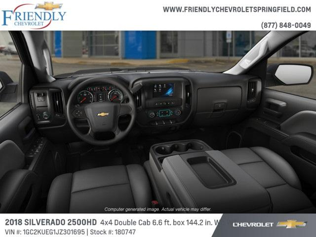 2018 Silverado 2500 Double Cab 4x4,  Pickup #180747 - photo 4