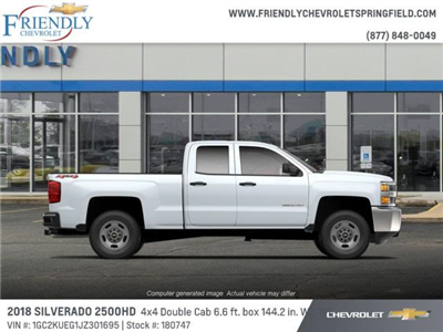 2018 Silverado 2500 Double Cab 4x4,  Pickup #180747 - photo 2