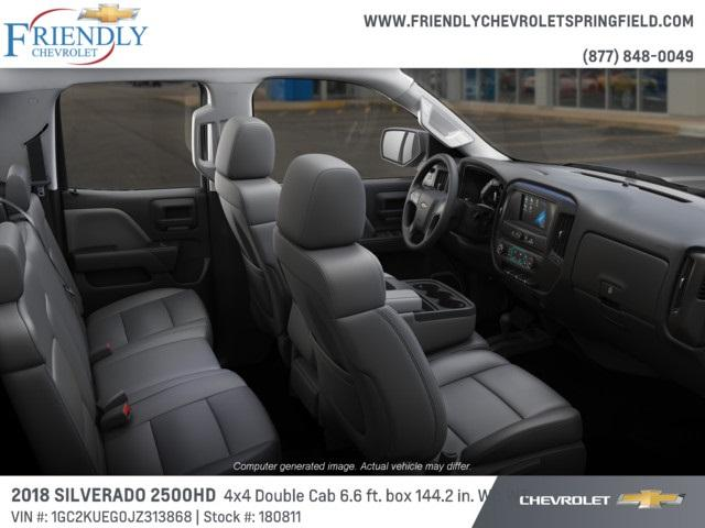 2018 Silverado 2500 Double Cab 4x4,  Pickup #180811 - photo 5