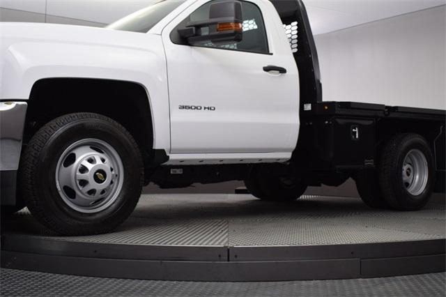 2019 Silverado 3500 Regular Cab DRW 4x4,  Knapheide Platform Body #190057 - photo 15