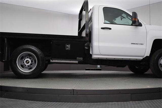 2019 Silverado 3500 Regular Cab DRW 4x4,  Knapheide Platform Body #190057 - photo 17