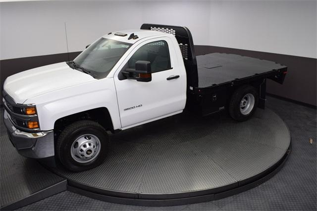 2019 Silverado 3500 Regular Cab DRW 4x4,  Knapheide Platform Body #190057 - photo 19