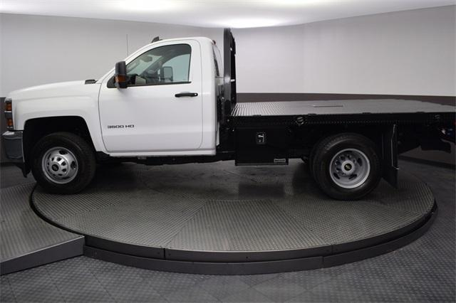 2019 Silverado 3500 Regular Cab DRW 4x4,  Knapheide Platform Body #190057 - photo 3