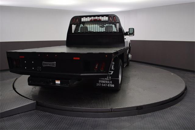 2019 Silverado 3500 Regular Cab DRW 4x4,  Knapheide Platform Body #190057 - photo 4