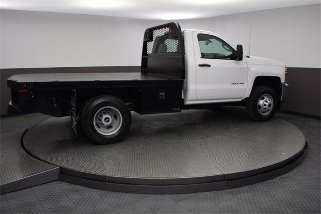 2019 Silverado 3500 Regular Cab DRW 4x4,  Knapheide Platform Body #190057 - photo 5