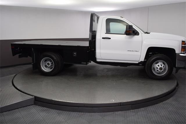 2019 Silverado 3500 Regular Cab DRW 4x4,  Knapheide Platform Body #190057 - photo 6