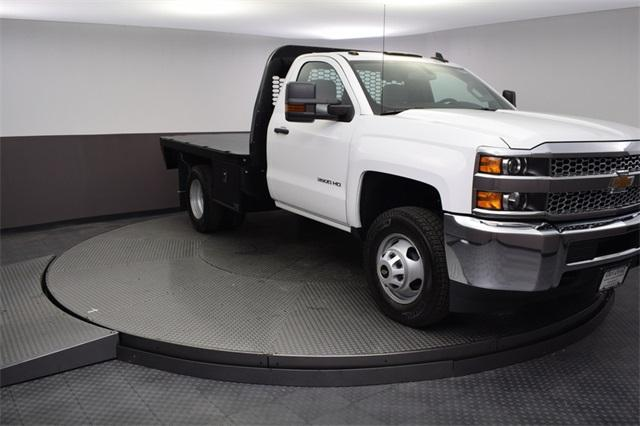 2019 Silverado 3500 Regular Cab DRW 4x4,  Knapheide Platform Body #190057 - photo 7