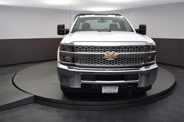 2019 Silverado 3500 Regular Cab DRW 4x4,  Knapheide Platform Body #190057 - photo 8