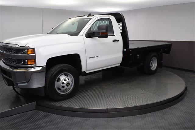 2019 Silverado 3500 Regular Cab DRW 4x4,  Knapheide Platform Body #190057 - photo 9
