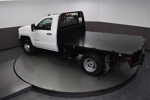 2019 Silverado 3500 Regular Cab DRW 4x4,  Knapheide Platform Body #190057 - photo 20