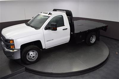 2019 Silverado 3500 Regular Cab DRW 4x4,  Knapheide PGNB Gooseneck Platform Body #190057 - photo 19