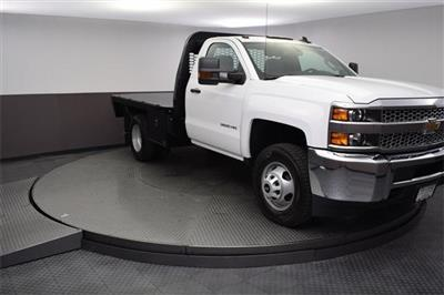 2019 Silverado 3500 Regular Cab DRW 4x4,  Knapheide PGNB Gooseneck Platform Body #190057 - photo 7