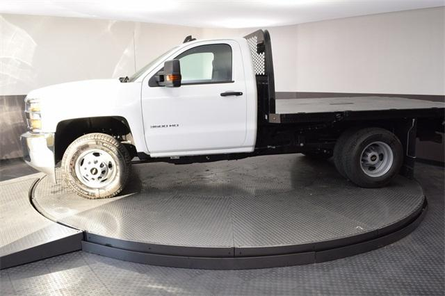 2019 Silverado 3500 Regular Cab DRW 4x4,  Knapheide Platform Body #190067 - photo 7