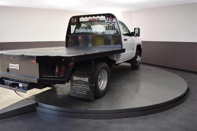 2019 Silverado 3500 Regular Cab DRW 4x4,  Knapheide Platform Body #190067 - photo 9