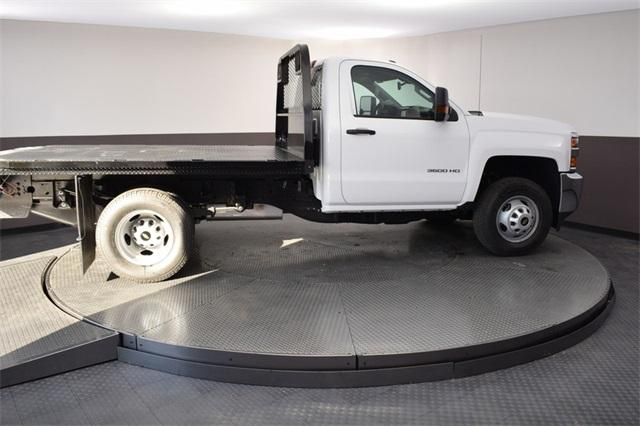 2019 Silverado 3500 Regular Cab DRW 4x4,  Knapheide Platform Body #190067 - photo 11