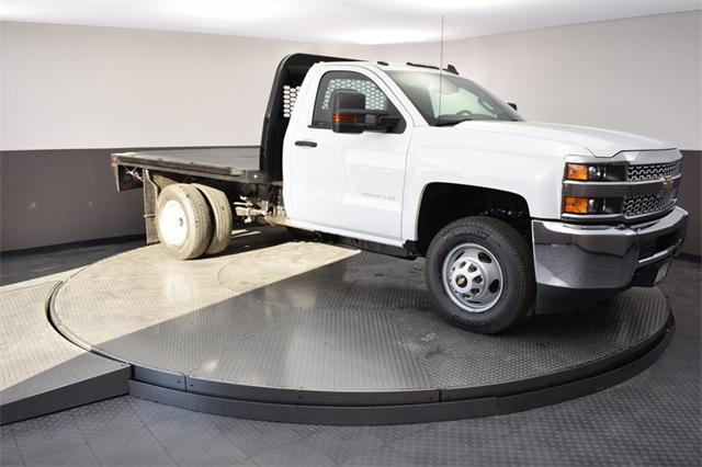 2019 Silverado 3500 Regular Cab DRW 4x4,  Knapheide Platform Body #190067 - photo 13