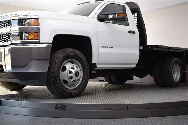 2019 Silverado 3500 Regular Cab DRW 4x4,  Knapheide Platform Body #190067 - photo 12