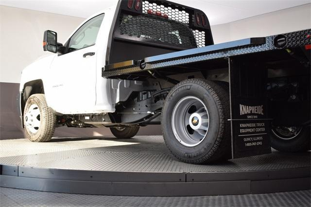 2019 Silverado 3500 Regular Cab DRW 4x4,  Knapheide Platform Body #190067 - photo 14
