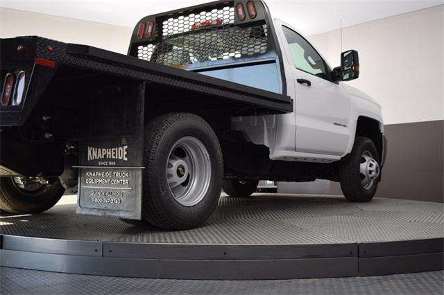 2019 Silverado 3500 Regular Cab DRW 4x4,  Knapheide Platform Body #190067 - photo 16