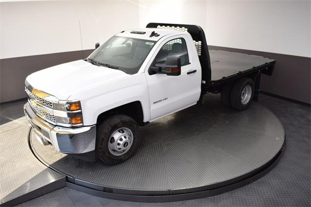 2019 Silverado 3500 Regular Cab DRW 4x4,  Knapheide Platform Body #190067 - photo 17
